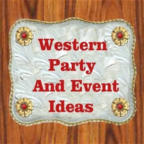 WESTERN PARTY IDEAS AND DECORATING   DANCING COWGIRL DESIGN