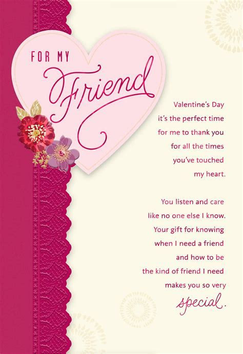 For My Friend Valentine's Day Card   Greeting Cards   Hallmark