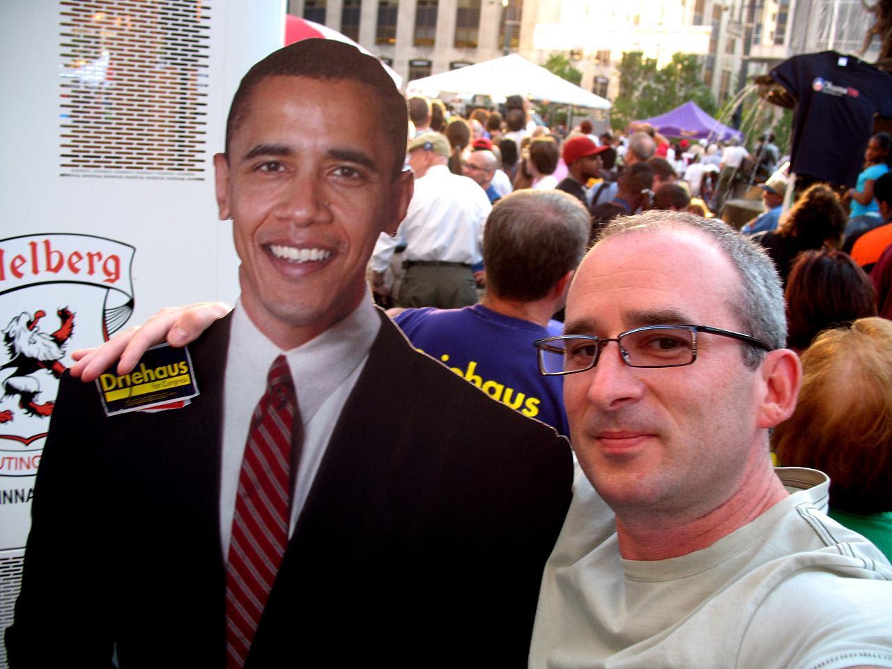 Obama @Fountain Square