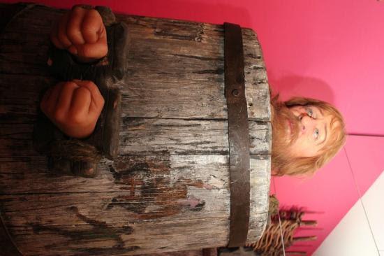 Museum of Medieval Torture Instruments: barrel