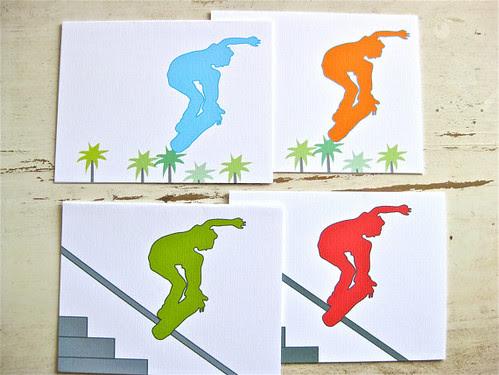 Skate Note Cards
