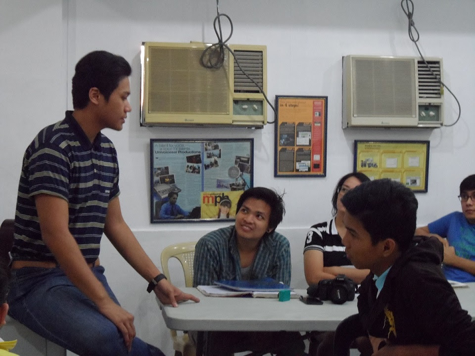 Andrew San Fernando Teaches Radio Programming