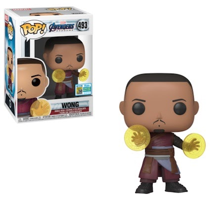 San Diego Comic Con Pop Exclusives 2019