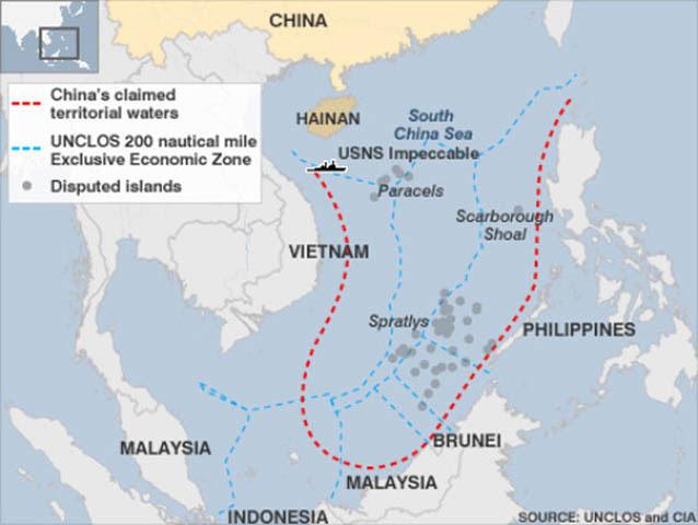 Trung Quốc, Biển Đông, COC, Indonesia