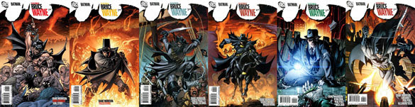 The Return of Bruce Wayne #1-6