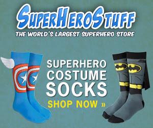 SuperHeroStuff - New Socks!