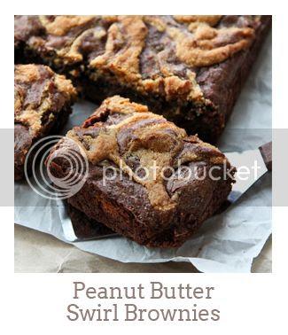 """Peanut Butter Swirl Brownies"""