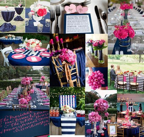 A Navy and Pink Wedding   The High Life Suite   Fashion