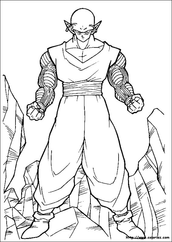 Index Of Images Coloriage Dragon Ball Z