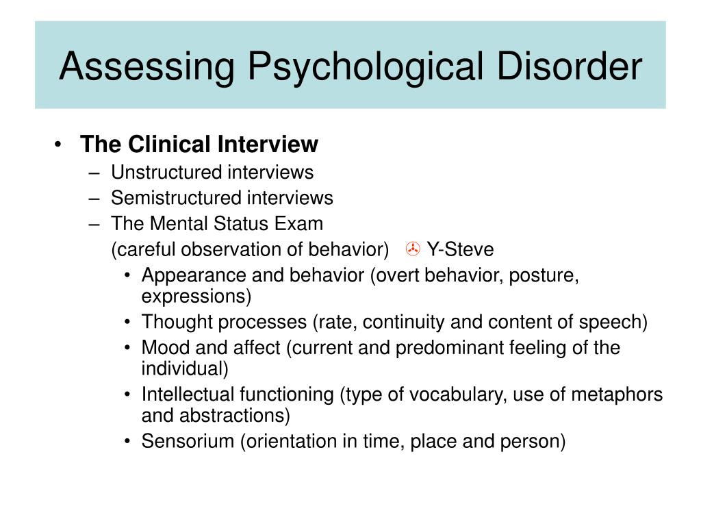 PPT - Abnormal Psychology PowerPoint Presentation - ID:167768