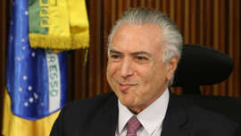 Temer diz que não processará Machado por acusação sobre propina na Lava Jato