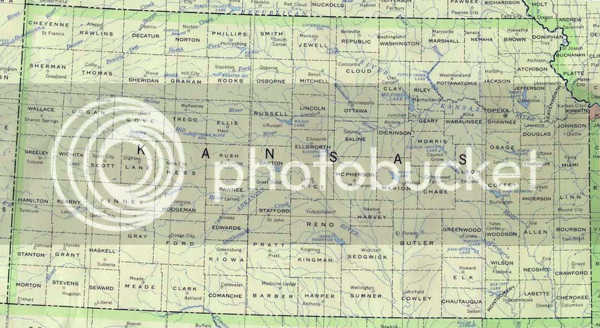 Map Kansas Cities - Free Printable Maps