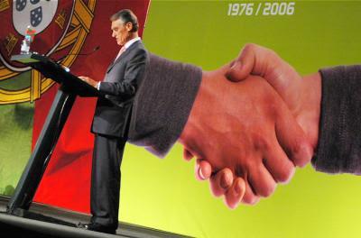 Cavaco assinou lei acordada entre Sócrates e Passos Coelho. Foto maiqui maiqui/Flickr