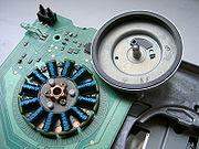 floppy disk spindle motor
