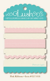 *NEW* My Mind's Eye - Lush - Pink Ribbons