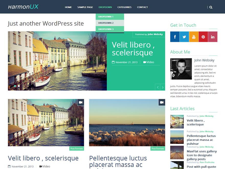 HarmonUX CORE WordPress Teması İndir
