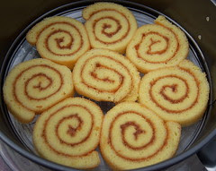 Banana roll cake 5