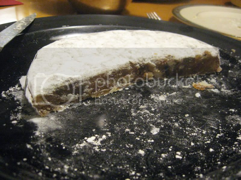 Panforte on Christmas
