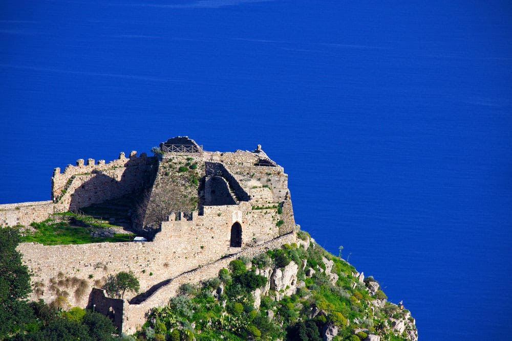 Castello Saraceno, one of the prettiest castles in Italy