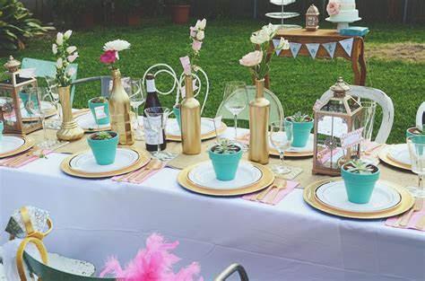 A Lovely Backyard Bridal Shower for Natalie   Outdoor