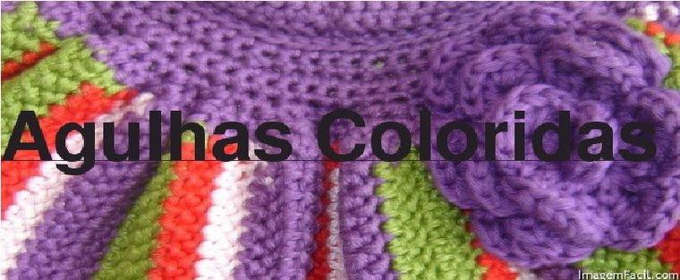 Agulhas Coloridas Croche e Trico