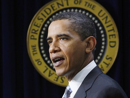 """President Barack Obama: """"In the end he will be judged by whether he can get people back to work."""""""