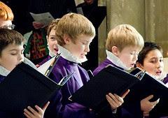 Choristers at Christmas, Canterbury Cathedral