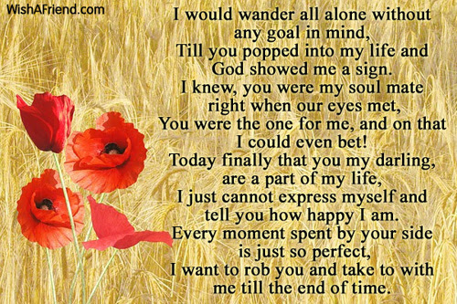 You Changed My Life Love Poem