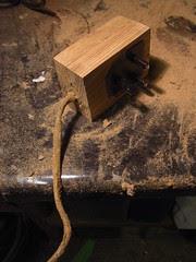 Wood-effect power lead