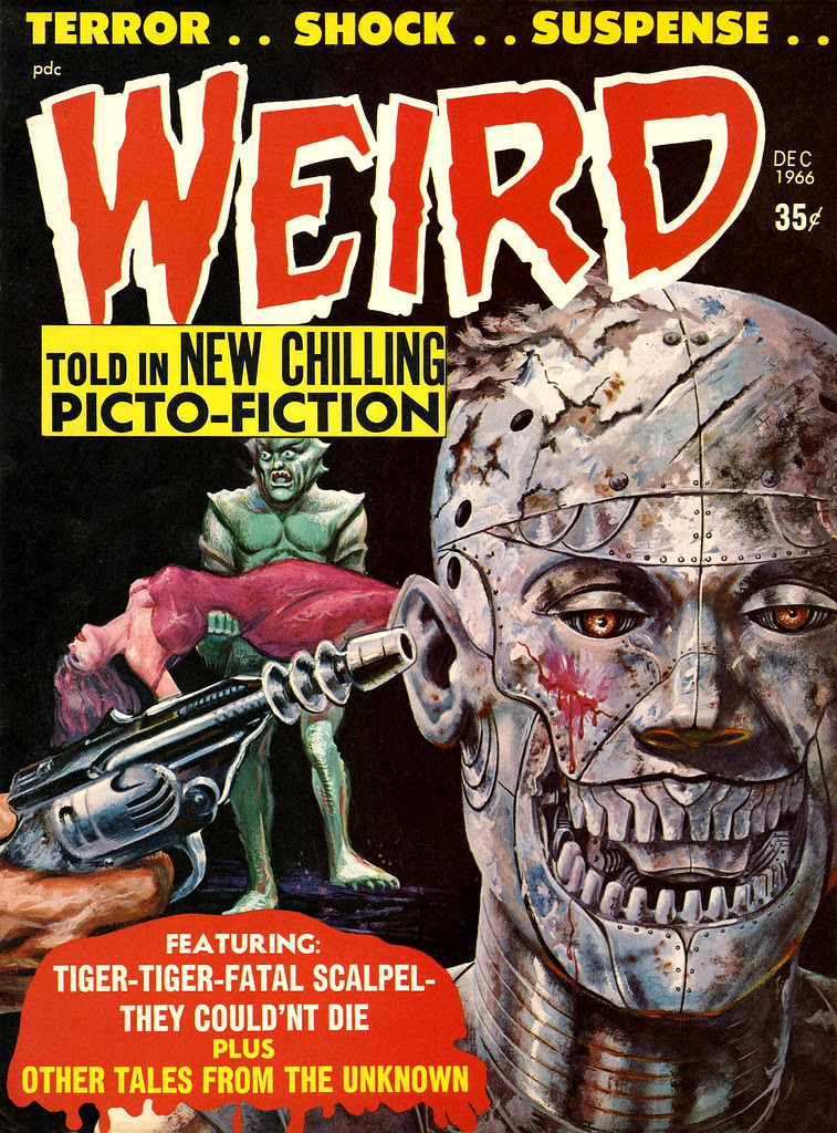Weird Vol. 02 #1 (Eerie Publications, 1966)