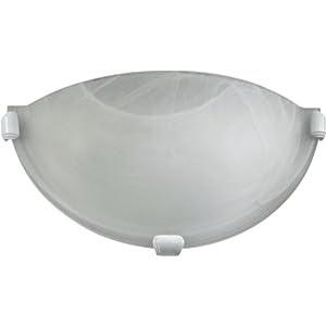 Amazon.com: Quorum 5629-6 Decorative 1 Light Wall Sconce, White ...
