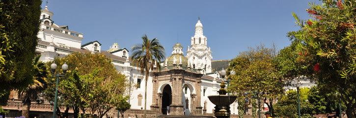 Ville de Quito Equateur