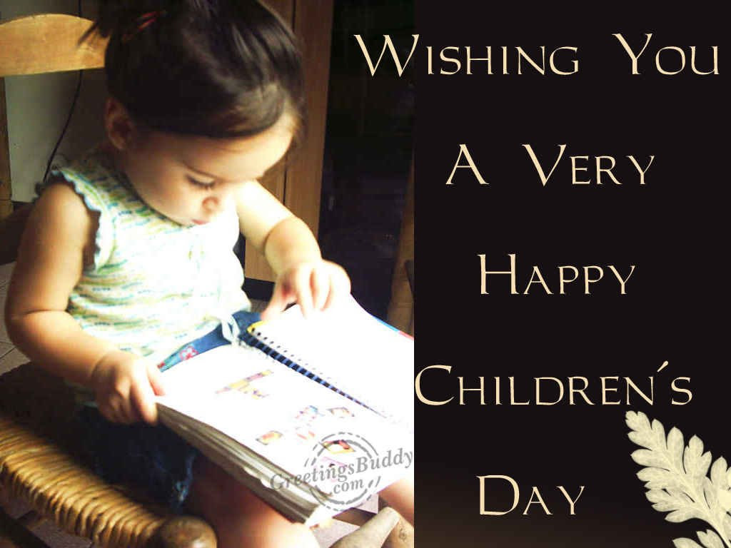 Wishing You A Very Happy Childrens Day Greetingsbuddycom