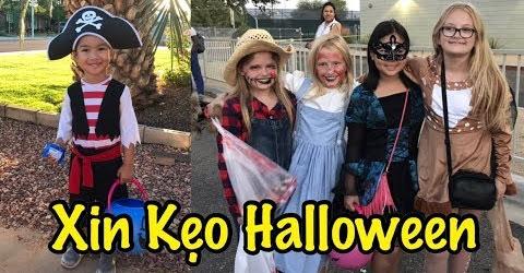 Đi Xin Kẹo Lễ Hội Halloween - Cuộc Sống Ở Mỹ - Co3nho 288