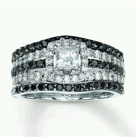 Black And White Engagement Rings Kay Jewelers 7   Top 2