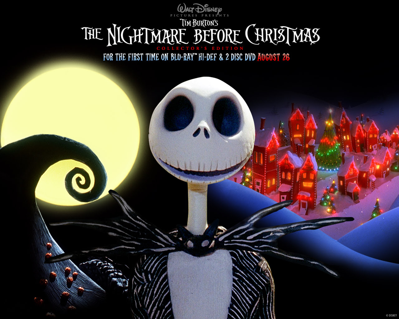 Nbc Nightmare Before Christmas Wallpaper 25437044 Fanpop