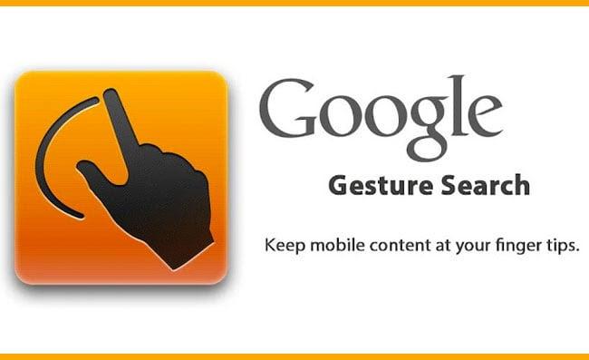 Hasil gambar untuk googlegesture search