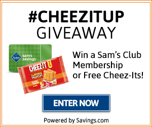 #CheezItUp Giveaway