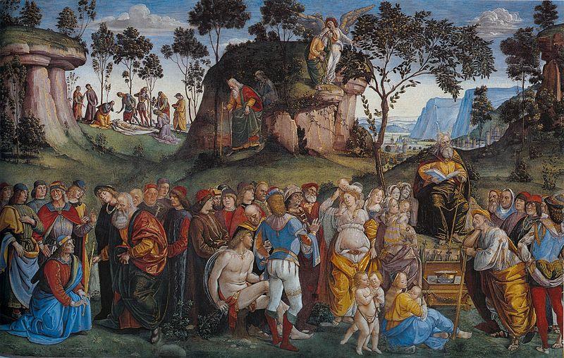 Fil: Signorelli, Luca - Moses Testamentet och död - 1481-82.jpg