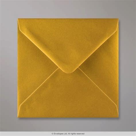 140x140 mm Metallic Gold Envelope   D04140   Simply Envelopes