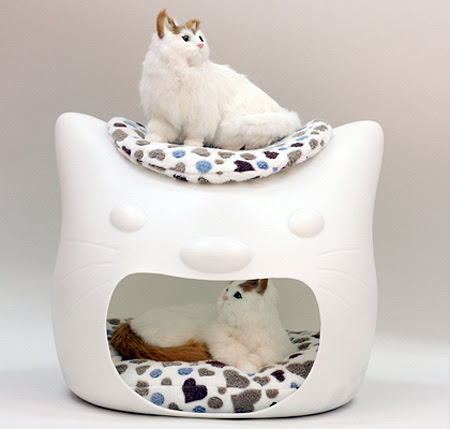 Kitty Meow Cat Bed