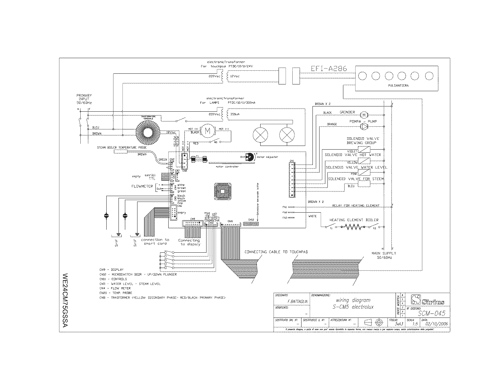 32 coffee vending machine circuit diagram