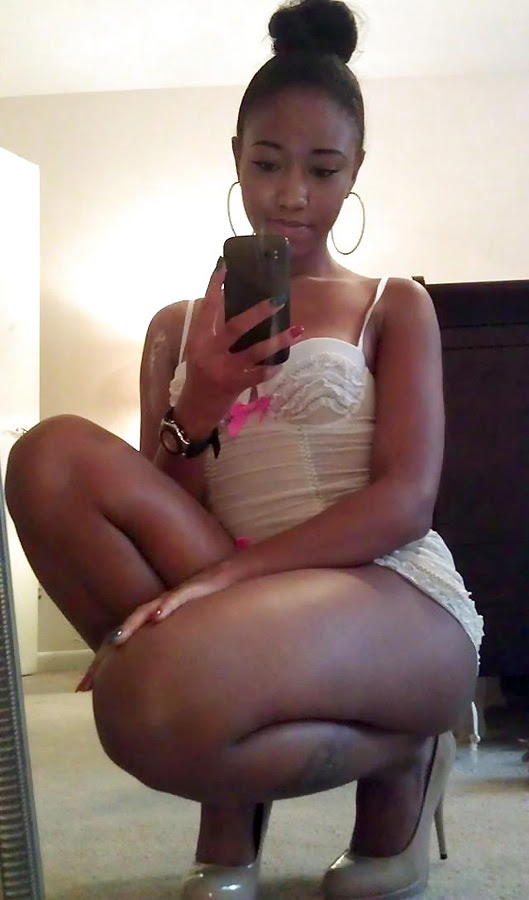 Sexy Ebony Teen Homemade