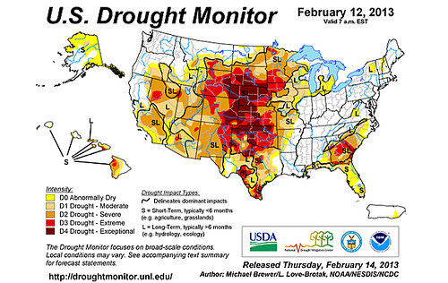 19 Drought Monitor