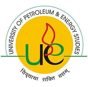 English: Official logo of University of petrol...