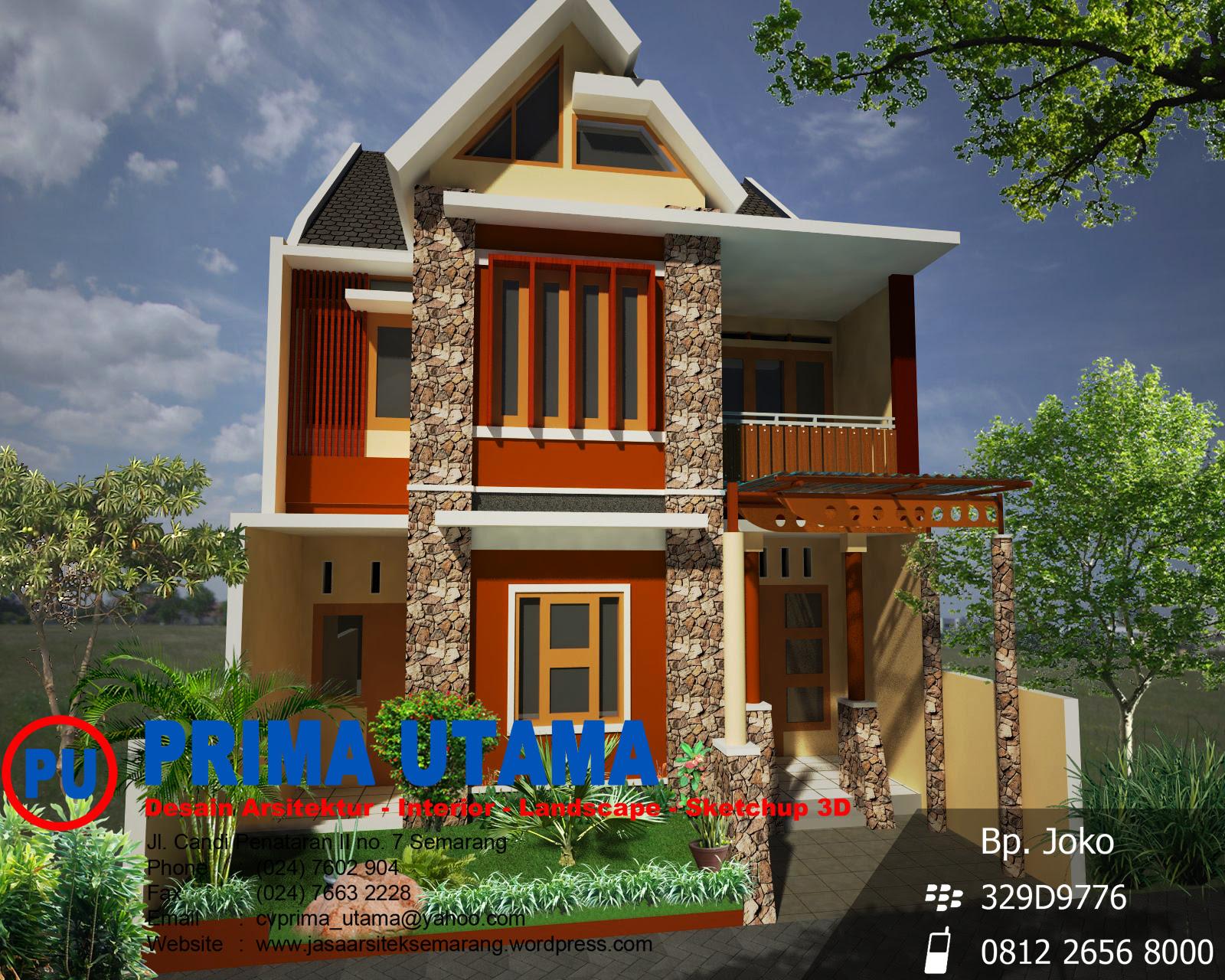 Gambar Denah Rumah Jawa Sederhana | Desain Rumah Minimalis ...