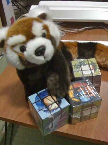 Firefox Plushie & Mozilla Rubiks
