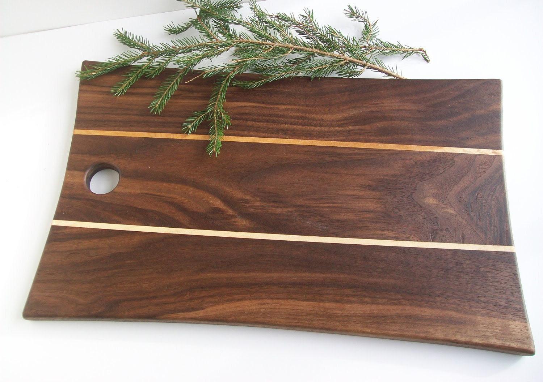 Cutting Board Chopping Board Bread Board Wood by DouglasMartin