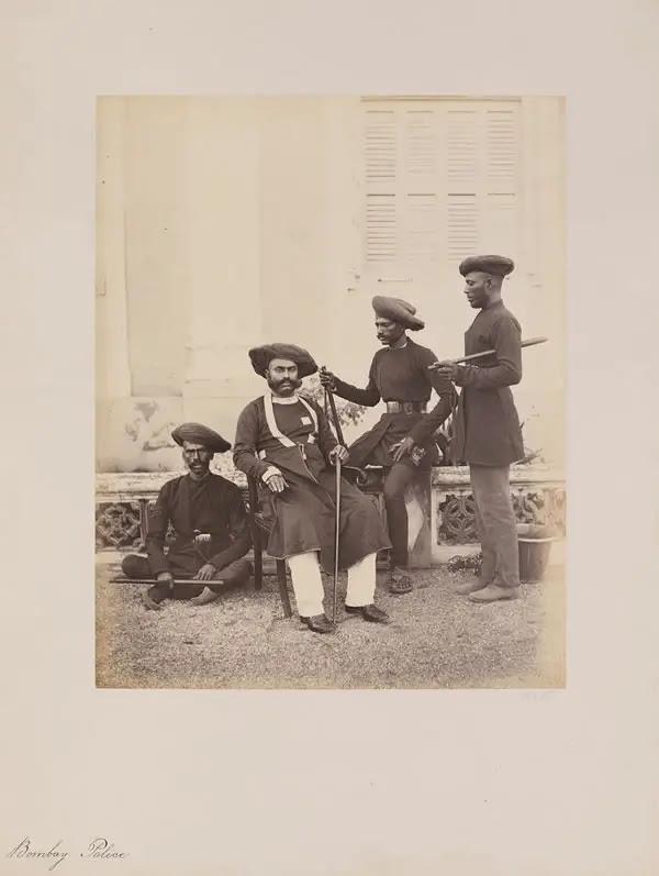 Bombay Police, 1855-1862