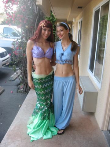 Ariel and Jasmin